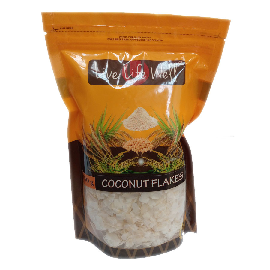 Live Life W Coconut Flakes 250G